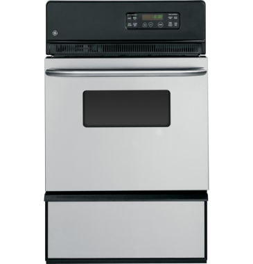 "jcpenney.com | GE® 24"" Single Gas Wall Oven With Storage Drawer"