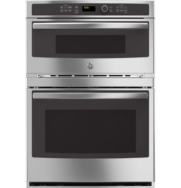 "jcpenney.com | GE Profile™  30"" Electric Convection Wall OvenSelf Cleaning With Built-In Microwave"