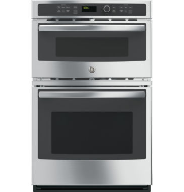 "jcpenney.com | GE® 27"" Electric Wall Oven With Built-In Microwave"