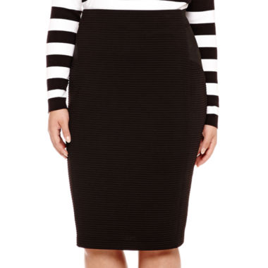 jcpenney.com | BELLE + SKY™ Bodycon Pencil Skirt - Plus