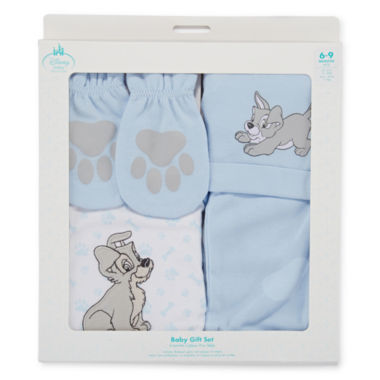 jcpenney.com | Disney Baby Collection Lady and the Tramp Gift Set - Baby Boys newborn-24m