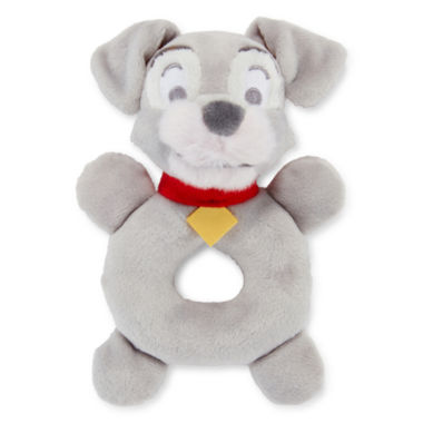 jcpenney.com | Disney Baby Collection Lady and the Tramp Plush Rattle