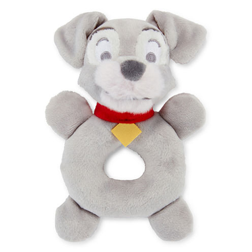 Disney Baby Collection Lady and the Tramp Plush Rattle
