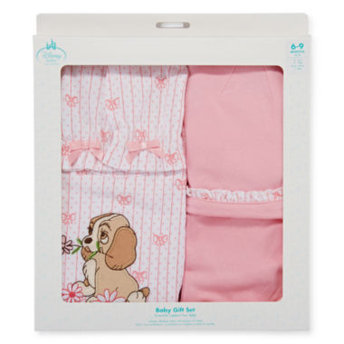 jcpenney.com | Disney Collection Lady and the Tramp Gift Set - Baby Girls newborn-24m