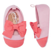 Disney Collection Lady and the Tramp Crib Shoes - Baby Girls newborn-24m