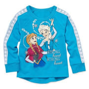 Disney Apparel by Okie Dokie® Frozen Fleece Top - Preschool Girls 4-6x