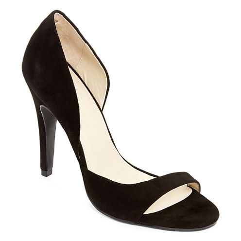 MIA Elia Open-Toe Pumps