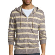 Arizona Striped Full-Zip Hoodie