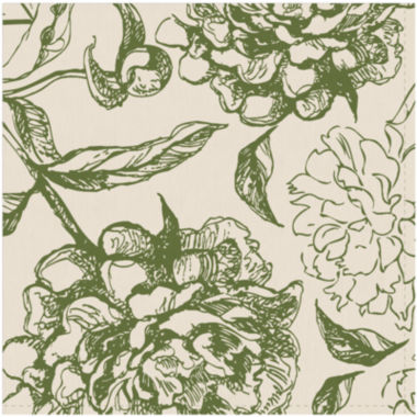 jcpenney.com | Peony Set of 4 Floral Napkins