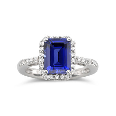 jcpenney.com | Lab-Created Blue & White Sapphire Ring