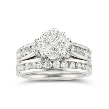 jcpenney.com | Harmony Eternally in Love 2 CT. T.W. Certified Diamond Bridal Set