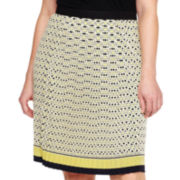 Liz Claiborne Pleated Front Skirt