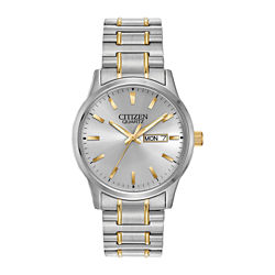 Citizen® Mens Two-Tone Expansion Band Watch BF0614-90A