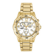 Citizen® Eco-Drive™ Womens Gold-Tone Chronograph Watch FB1352-52A