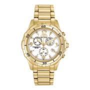 Citizen® Eco-Drive™ Womens Gold-Tone Chronograph Watch FB1352-52A