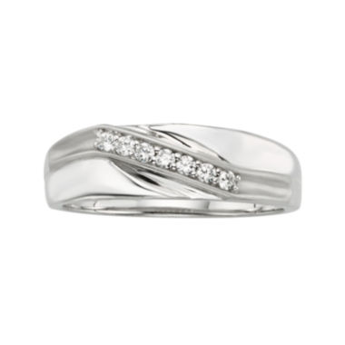jcpenney.com | 1/5 CT. T.W. Men's Diamond Band