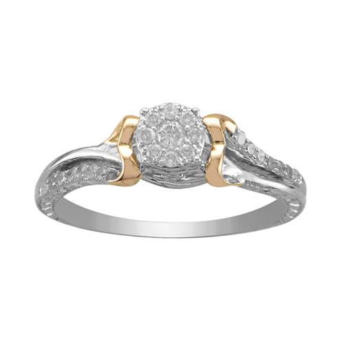 ¼ CT. T.W. Diamond Promise Ring