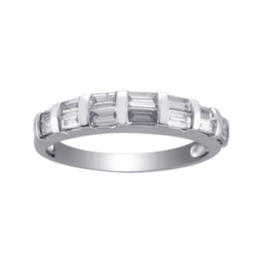 jcpenney.com | ½ CT. T.W. Diamond Anniversary Band