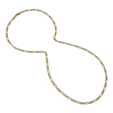 jcpenney.com | Mens Two-Tone Stainless Steel Figaro Chain