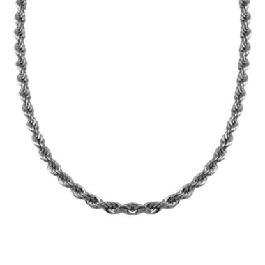 jcpenney.com | Mens Stainless Steel Rope Chain