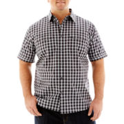 The Foundry Supply Co.™ Short Sleeve Modern Woven Shirt-Big & Tal