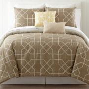 CLOSEOUT! JCPenney Home™ Tayla 3-pc. Comforter Set & Accessories