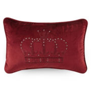Queen Street® Scarborough Crown Decorative Pillow
