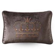 Queen Street® Chiara Crown Decorative Pillow