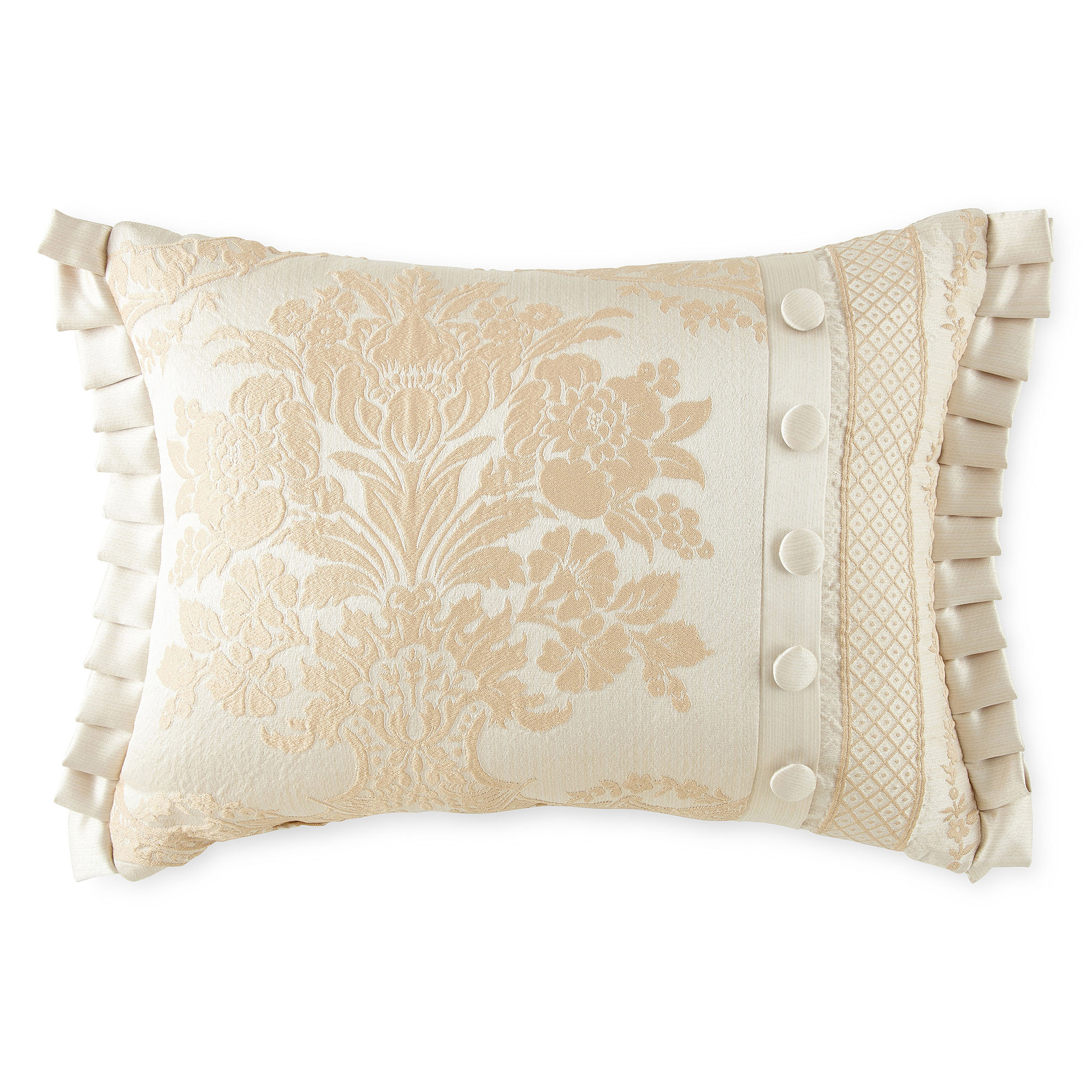 Queen Street Decorative Pillows : QUEEN STREET Bianca Oblong Decorative Pillow, Pearl, Girls on PopScreen