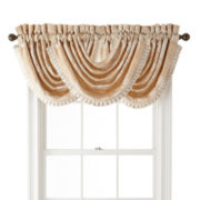 Queen Street® Bianca Waterfall Swag Valance