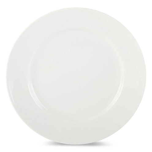 JCPenney Home™ Porcelain Whiteware Set of 4 Round Salad Plates