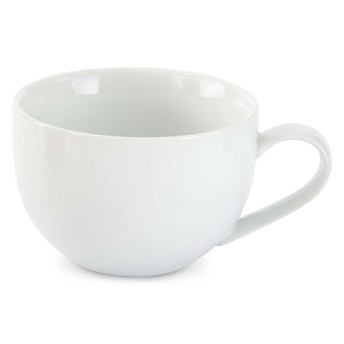 JCPenney Home™ Porcelain Whiteware Set of 4 Latte Mugs