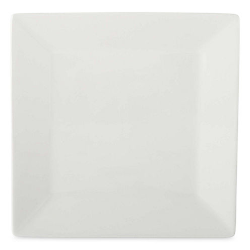 JCPenney Home™ Porcelain Whiteware Set of 4 Square Salad Plates