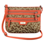 9 & Co.® Forces Of Nature Leopard Crossbody Bag