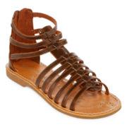 Arizona Gabriella Girls Gladiator Sandals - Little Kids/Big Kids