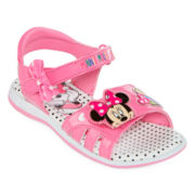 Disney Minnie Mouse Girls Sandals - Toddler