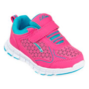 LA Gear® Heartbeat Girls Sneakers - Toddler