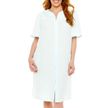 jcpenney.com | Adonna Short-Sleeve Duster Robe - Plus