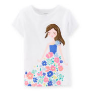Carter's® Short-Sleeve Flower Tee - Girls 6-24m