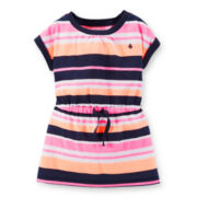 Carter's® Short-Sleeve Striped Tunic - Girls 4-6x