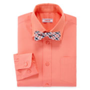 IZOD® Dress Shirt and Bow Tie Set – Boys 8-20
