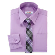 IZOD® Dress Shirt and Tie Set - Boys 4-7