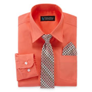 Steve Harvey® Dress Shirt, Tie and Handkerchief Set - Boys 8-20