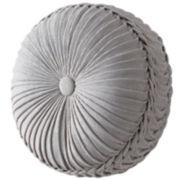 CLOSEOUT! Queen Street® Delrey Round Tufted Decorative Pillow