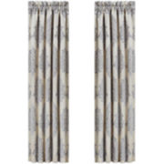 CLOSEOUT! Queen Street® Delrey 2-Pack Curtain Panels