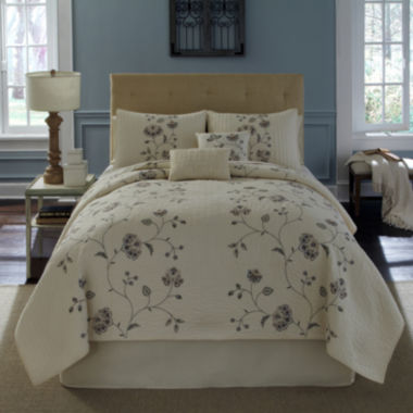 jcpenney.com | Flowering Vine Embroidered Quilt