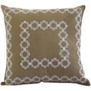 Highland Park Square Decorative Pillow