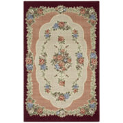 Rosewood Washable Rectangular Rugs