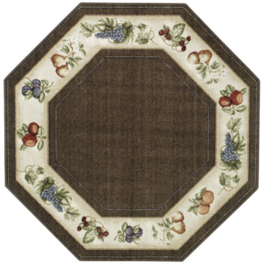 jcpenney.com | Fresh Fruit Washable Octagonal Rug