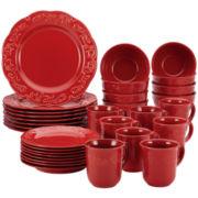 BonJour® Spiceberry 32-pc. Dinnerware Set